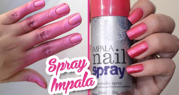 Esmalte spray da impala nail spray o que achei v cio for Esmalte para baneras en spray