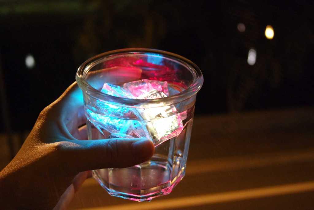 1 - cubinhos led
