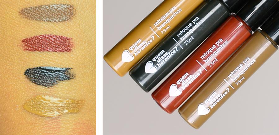 Maquiagem para Cabelo Branco - Cor Loiro, Castanho, Ruivo e Preto - Quem Disse Berenice No blog vídeo, resenha e preços