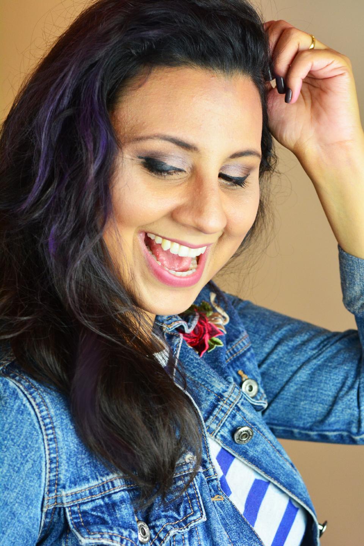 Maquiagem para Cabelo - Cabelo Roxo com GIZ - Quem Disse Berenice No blog vídeo, resenha e preços