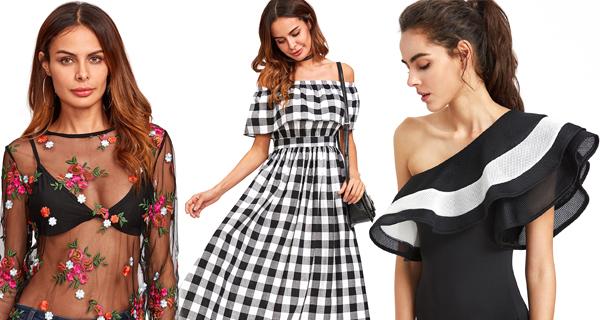 36dada9888b86 10 Tendências que vão Bombar no Verão 2018 - Moda Feminina - Vício de  MeninaVício de Menina